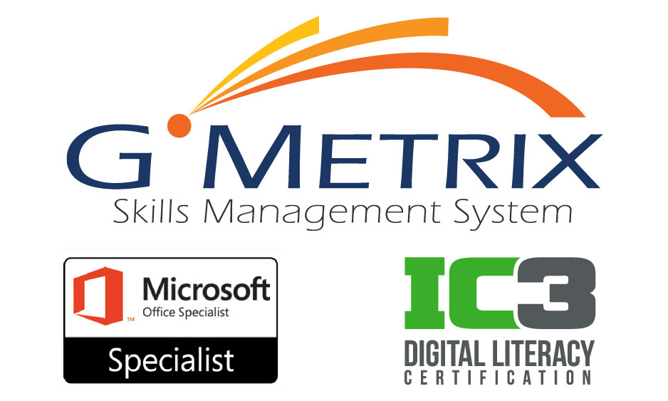 GMetrix - Internet and Computing Core Certification (IC3) - 1 test