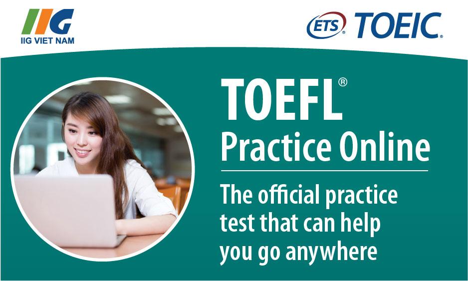 TOEFL Practice Online (TPO) - Luyện thi TOEFL iBT